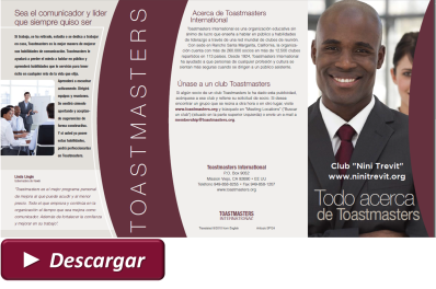Todo acerca de Toastmasters