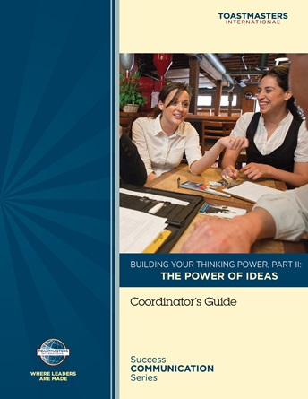 Building your thinking power - The power of ideas
