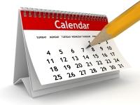Calendario de Sesiones 2016