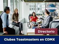 Otros clubes Toastmasters en la CDMX